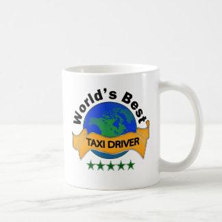 Caneca De Café O melhor taxista do mundo