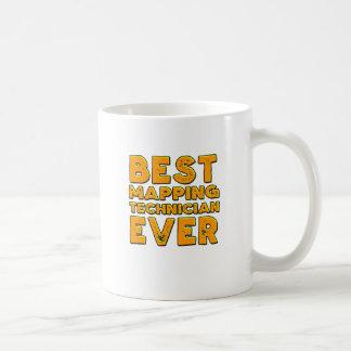 Caneca De Café O melhor técnico de traço nunca