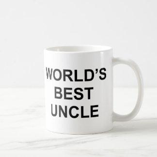 Caneca De Café O melhor tio do mundo