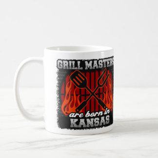 Caneca De Café O mestrado da grade é nascido em Kansas