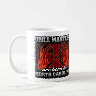 Caneca De Café O mestrado da grade é nascido em North Carolina
