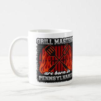Caneca De Café O mestrado da grade é nascido em Pensilvânia