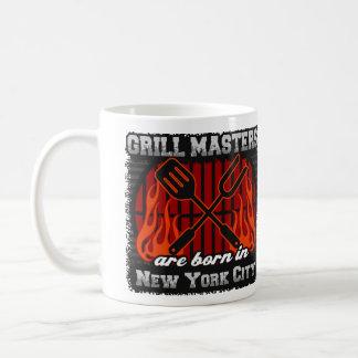 Caneca De Café O mestrado da grade é nascido na Nova Iorque
