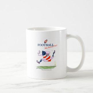 Caneca De Café O nascer do futebol produziu fernandes orgulhosos,