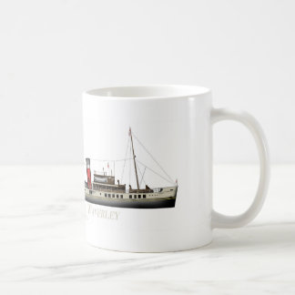 Caneca De Café O navio a vapor de pá Waverley por Tony Fernandes