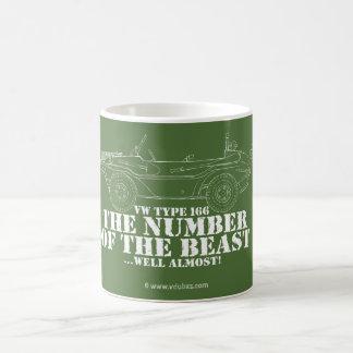 Caneca De Café o número do animal… bom quase!