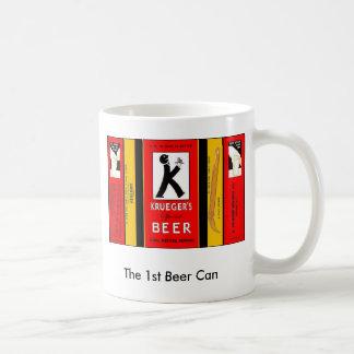Caneca De Café O ø KRUEGER Newark ESPECIAL New-jersey da lata de