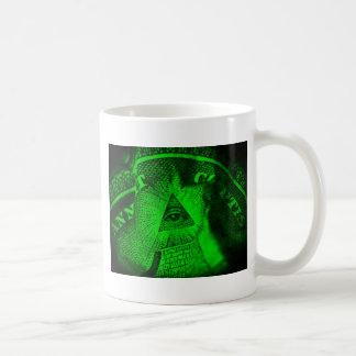 Caneca De Café O olho de Illuminati