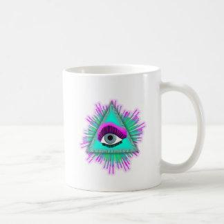 Caneca De Café O olho vê-o!