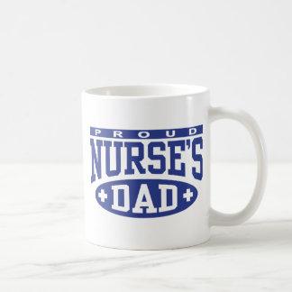 Caneca De Café O pai da enfermeira