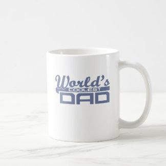 Caneca De Café O pai o mais fresco dos mundos