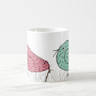 Caneca De Café o pássaro adiantado .....