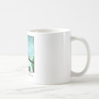 Caneca De Café O pássaro cortou o cabo