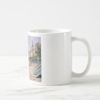 Caneca De Café O passeio à beira mar em Trouville Claude Monet