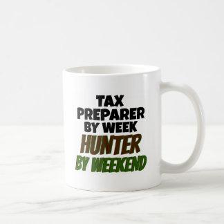 Caneca De Café O preparador de imposto ama caçar