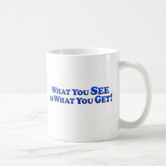 Caneca De Café O que você See é o que você obtem - Mult-Produtos
