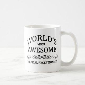 Caneca De Café O recepcionista médico o mais impressionante do