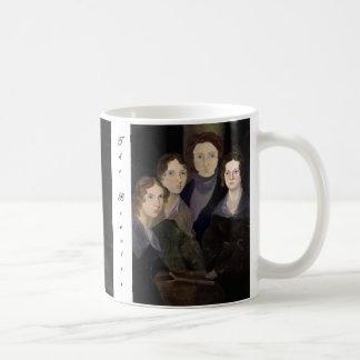 Caneca De Café O retrato restaurado ~ da coluna de Brontës