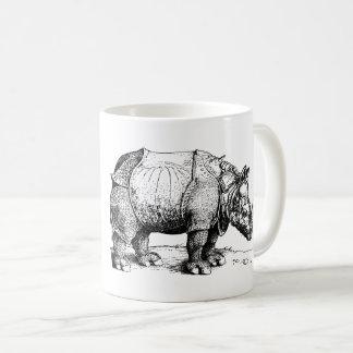 Caneca De Café O rinoceronte