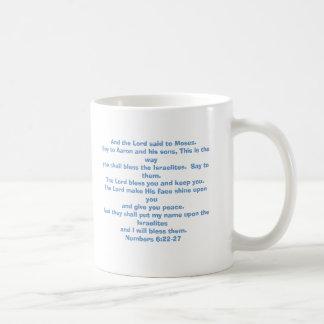 Caneca De Café O senhor abençoa-o e mantem-no