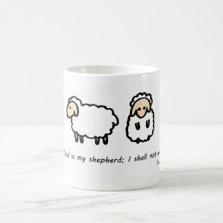 Caneca De Café O senhor é meu pastor