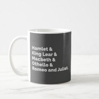 Caneca De Café O Shakespeare joga I