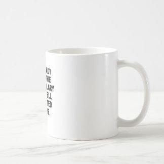 Caneca De Café O T-Shirts.png bem-educado das mulheres de