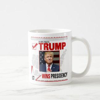 Caneca De Café O trunfo ganha a presidência