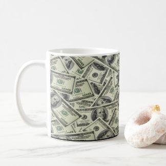 Caneca De Café O tudo do dinheiro não design