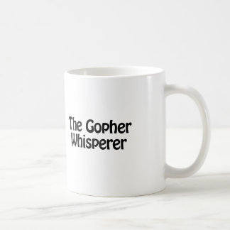 Caneca De Café o whisperer do Gopher