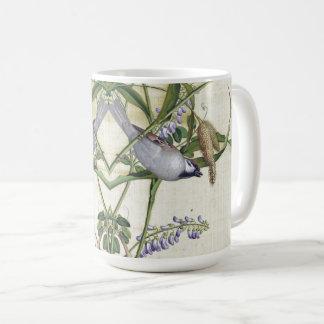 Caneca De Café O Wildflower asiático dos animais selvagens dos