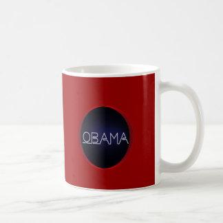 Caneca De Café Obama de néon