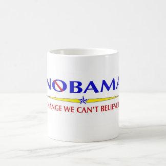 Caneca De Café Obama NOBAMA