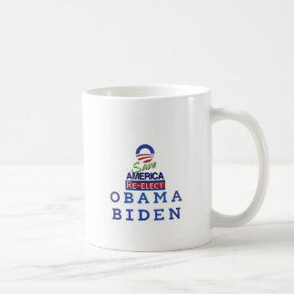 Caneca De Café obama que eu amo