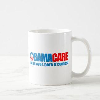 Caneca De Café Obamacare - curvatura aqui vem