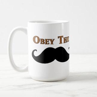 Caneca De Café Obedeça o bigode