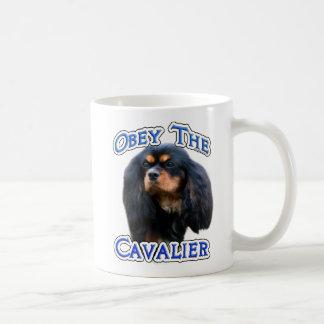 Caneca De Café Obedeça os Cavalier