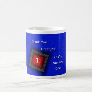 Caneca De Café Obrigado da apreciação do empregado você grande