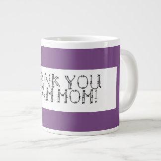 Caneca de café; Obrigado Team a mamã