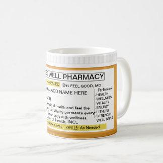 Caneca De Café Obtenha a prescrição boa RX