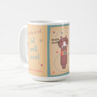 Caneca De Café Obtenha logo o urso bom de Sniffle Sniffle