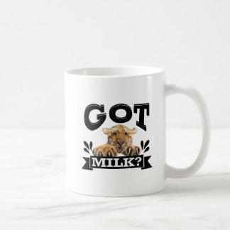 Caneca De Café Obteve mais leite