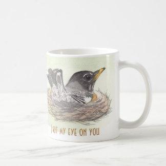 Caneca De Café Obteve meu olho em você
