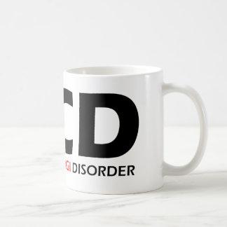 Caneca De Café OCD - Desordem obsessiva do Corgi