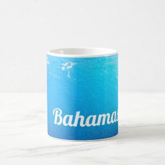 Caneca De Café Oceano de Bahamas de turquesa