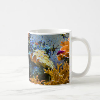 Caneca De Café oceano do coral dos peixes do recife