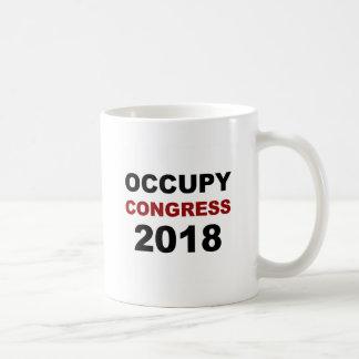 Caneca De Café Ocupe o congresso 2018
