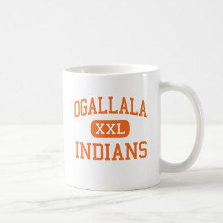 Caneca De Café Ogallala - indianos - alto - Ogallala Nebraska