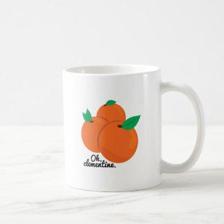 Caneca De Café Oh clementina