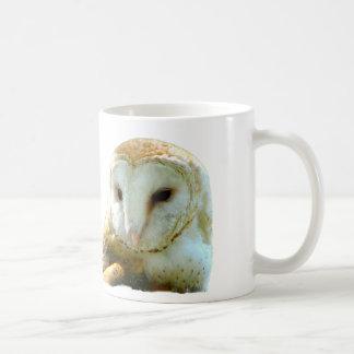 Caneca De Café Oh coruja de celeiro considerável